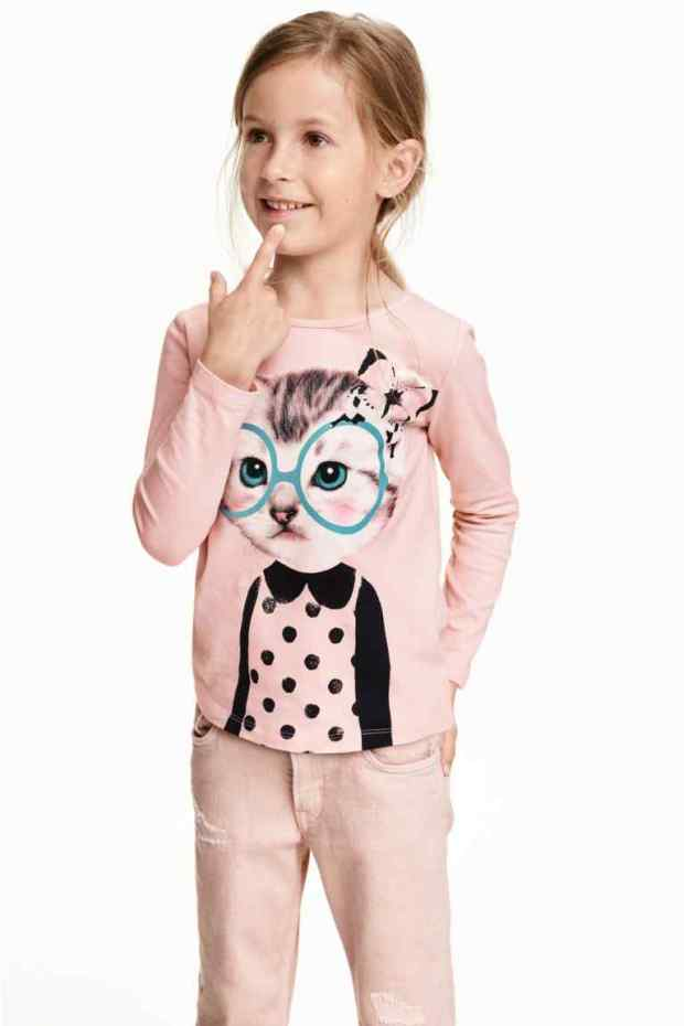 H&M - camiseta kids 1