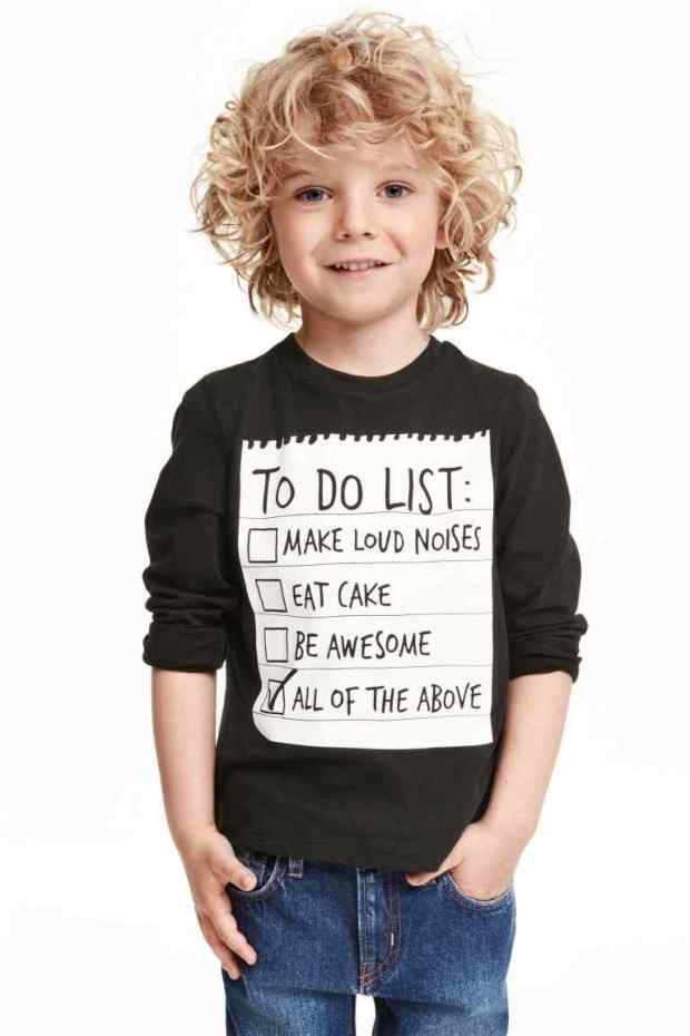 H&M - camiseta kids 2